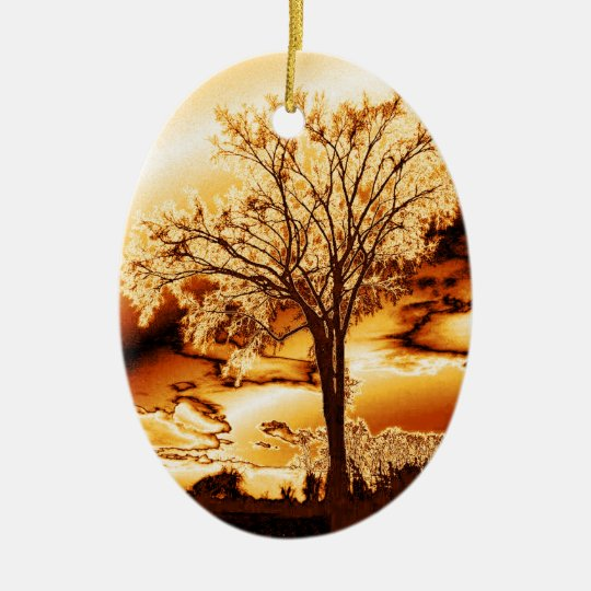 The Tree in Ice and Fire Ornament