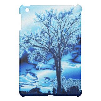 The Tree in Ice Blue iPad case
