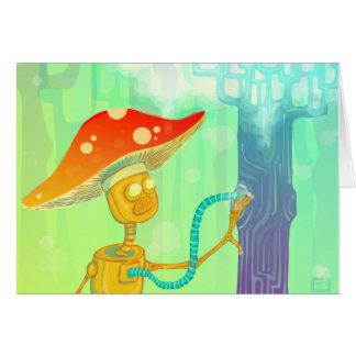 """The Tree Lighter"" notecard Card"