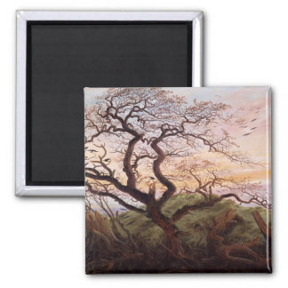The Tree of Crows, 1822 Fridge Magnet