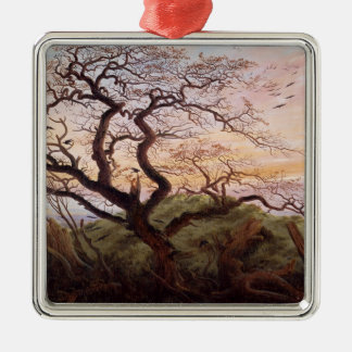The Tree of Crows, 1822 Metal Ornament
