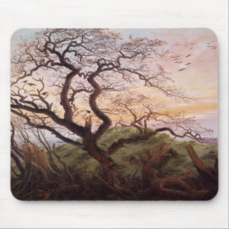 The Tree of Crows, 1822 Mouse Pad