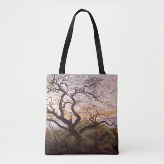 The Tree of Crows, 1822 Tote Bag