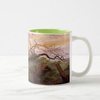 The Tree of Crows, 1822 Two-Tone Coffee Mug