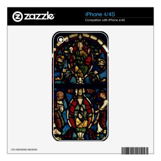 The Tree of Jesse, 13th century (stained glass) Decal For The iPhone 4S