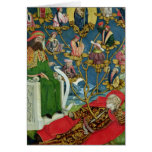 The Tree of Jesse, from the Dome Altar, 1499 Greeting Card