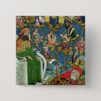 The Tree of Jesse, from the Dome Altar, 1499 Pinback Button