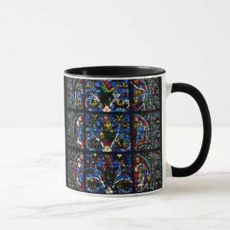 The Tree of Jesse, lancet window in the west facad Mug