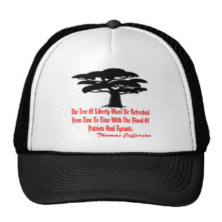 The Tree Of Liberty Must Be Refreshed From Time Trucker Hat