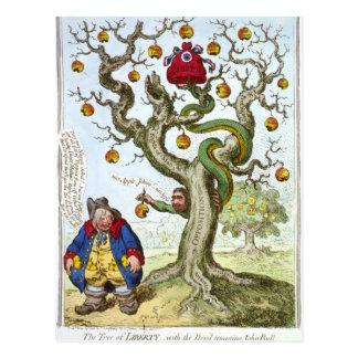 The Tree of Liberty Postcard