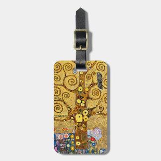 """The Tree of Life"" and Gustav Klimt Bag Tag"