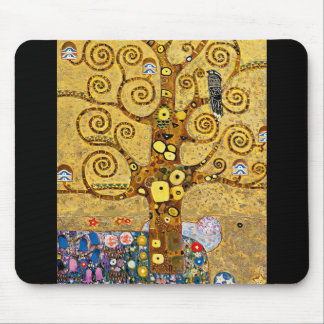 """""""The Tree of Life"""" and Gustav Klimt Mouse Pad"""