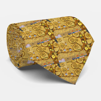 """The Tree of Life"" and Gustav Klimt Neck Tie"