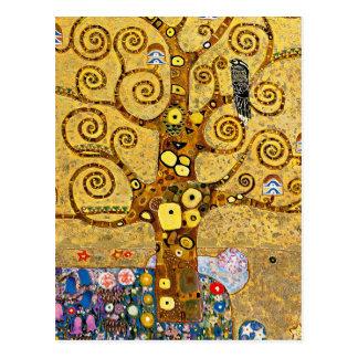 """The Tree of Life"" and Gustav Klimt Postcard"