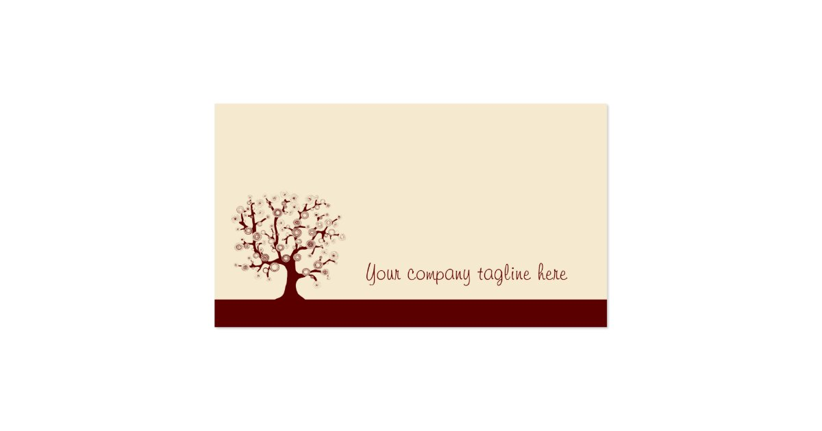 The Tree Of Life Business Card Zazzle
