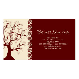 The Tree of Life Business Card