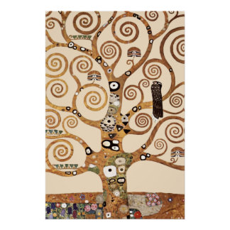 The Tree of Life by Gustav klimt Poster