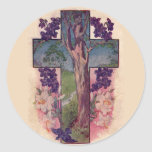 The Tree Of Life Cross Christian Easter Stickers