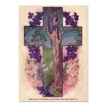 "The Tree Of Life Cross Easter Invitation 5"" X 7"" Invitation Card"