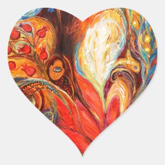 The Tree Of Life Heart Sticker