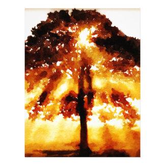 The Tree of Life Custom Letterhead