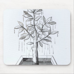 The Tree of Life, or the Weeping Tree Mouse Pad