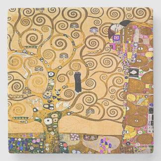 The Tree Of Life Stone Coaster
