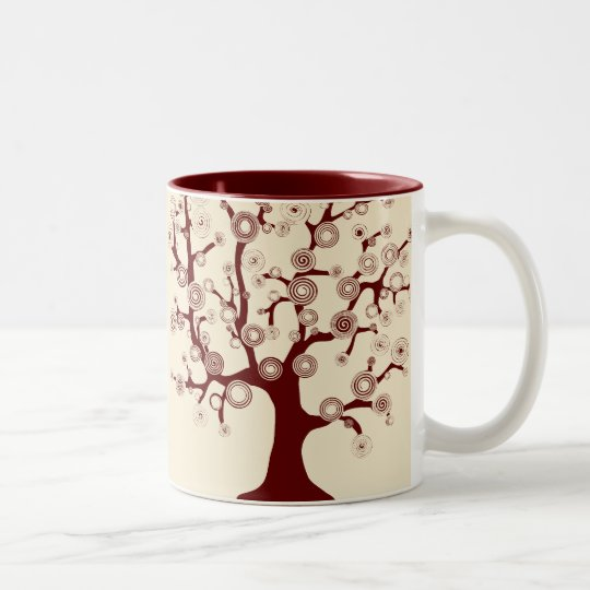 The Tree of Life Two-Tone Coffee Mug