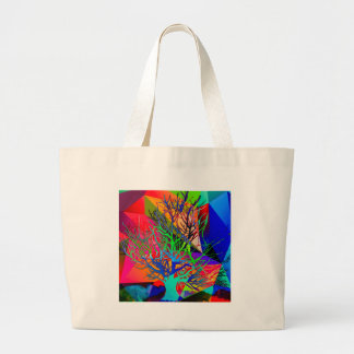 The tree of love makes our rainbow large tote bag