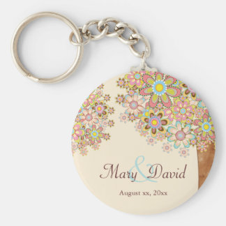 The Tree of Love Save the Date Keychain