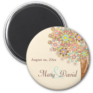 The Tree of Love Save the Date Magnet