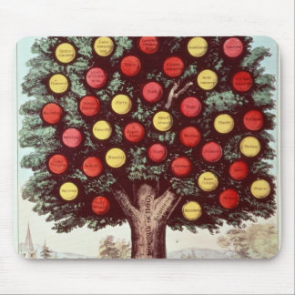 The Tree of Temperance, 1872 Mousepads