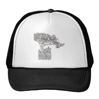 The tree of the sun trucker hat