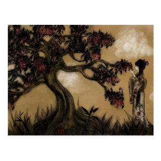 The Tree, Plum Blossoms Postcard