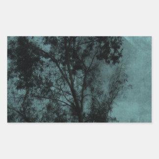 The Tree Rectangle Sticker