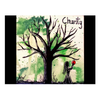 The Tree Series: Charity Postcard