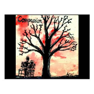 The Tree Series: Compassion Postcard