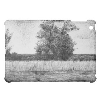 The trees by Georges Seurat iPad Mini Covers