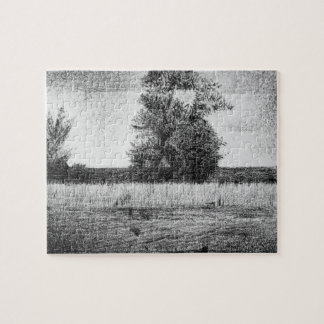 The trees by Georges Seurat Jigsaw Puzzle