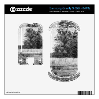The trees by Georges Seurat Samsung Gravity 3 Decal