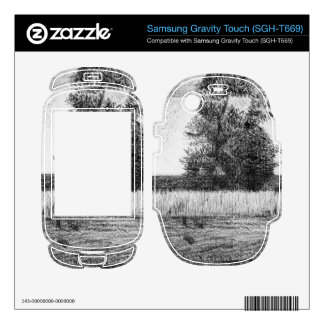 The trees by Georges Seurat Samsung Gravity Touch Skins
