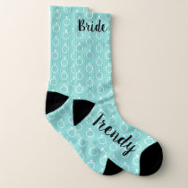 The Trendy Bride Shower Bridal Party Socks