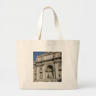 The Trevi Fountain Canvas Bag