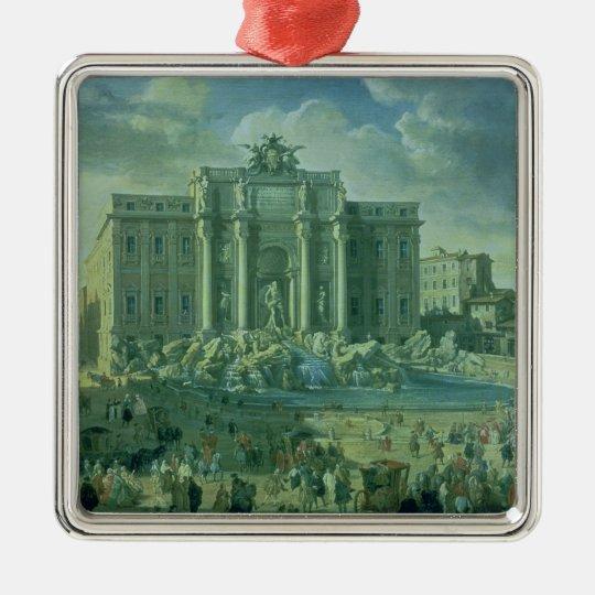 The Trevi Fountain in Rome, 1753-56 Metal Ornament
