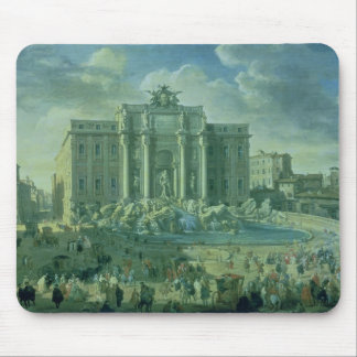 The Trevi Fountain in Rome, 1753-56 Mouse Pad