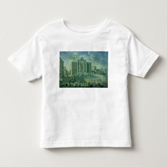 The Trevi Fountain in Rome, 1753-56 Toddler T-shirt