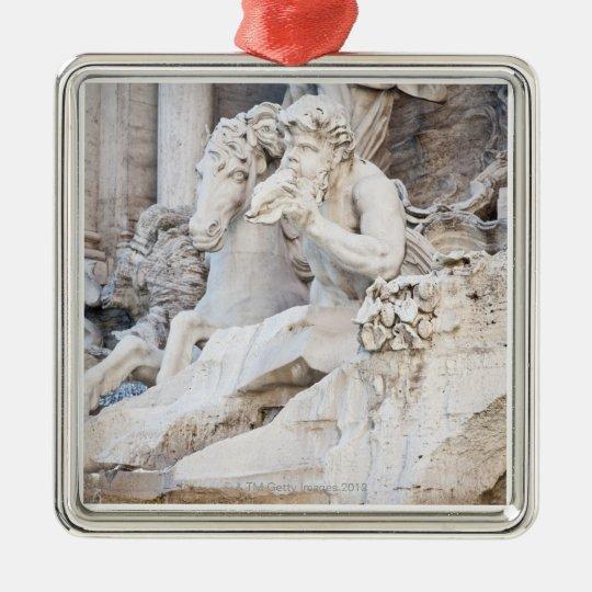 The Trevi Fountain (Italian: Fontana di Trevi) 2 Metal Ornament