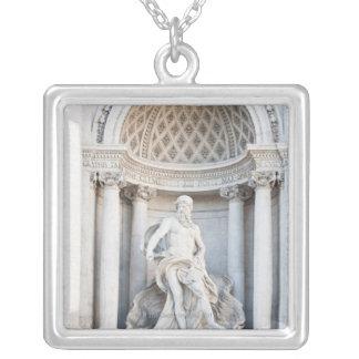 The Trevi Fountain (Italian: Fontana di Trevi) 3 Custom Necklace