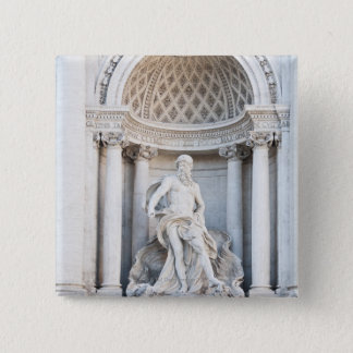 The Trevi Fountain (Italian: Fontana di Trevi) 3 Pinback Button