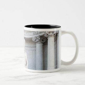 The Trevi Fountain (Italian: Fontana di Trevi) 3 Two-Tone Coffee Mug